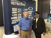 WVNET vendor booth at Bluefield RTC