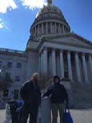 Higher Ed Day at WV State Capitol