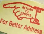 Return to sender stamp